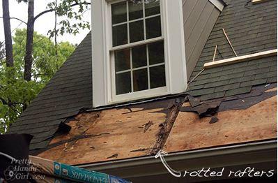 Repair roof damage